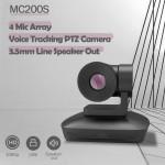 MOERTEK MC200S All In One USB HD PTZ Auto Rotate Tracking Voice Camera