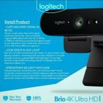 LOGITECH BRIO Ultra HD 4K Conference Camera